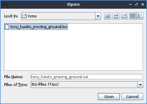 HDL Dumper Helper GUI select ISO