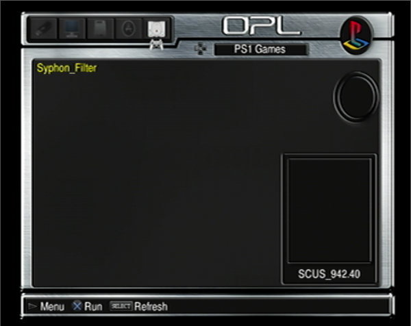 OPL PS2 Game Launcher