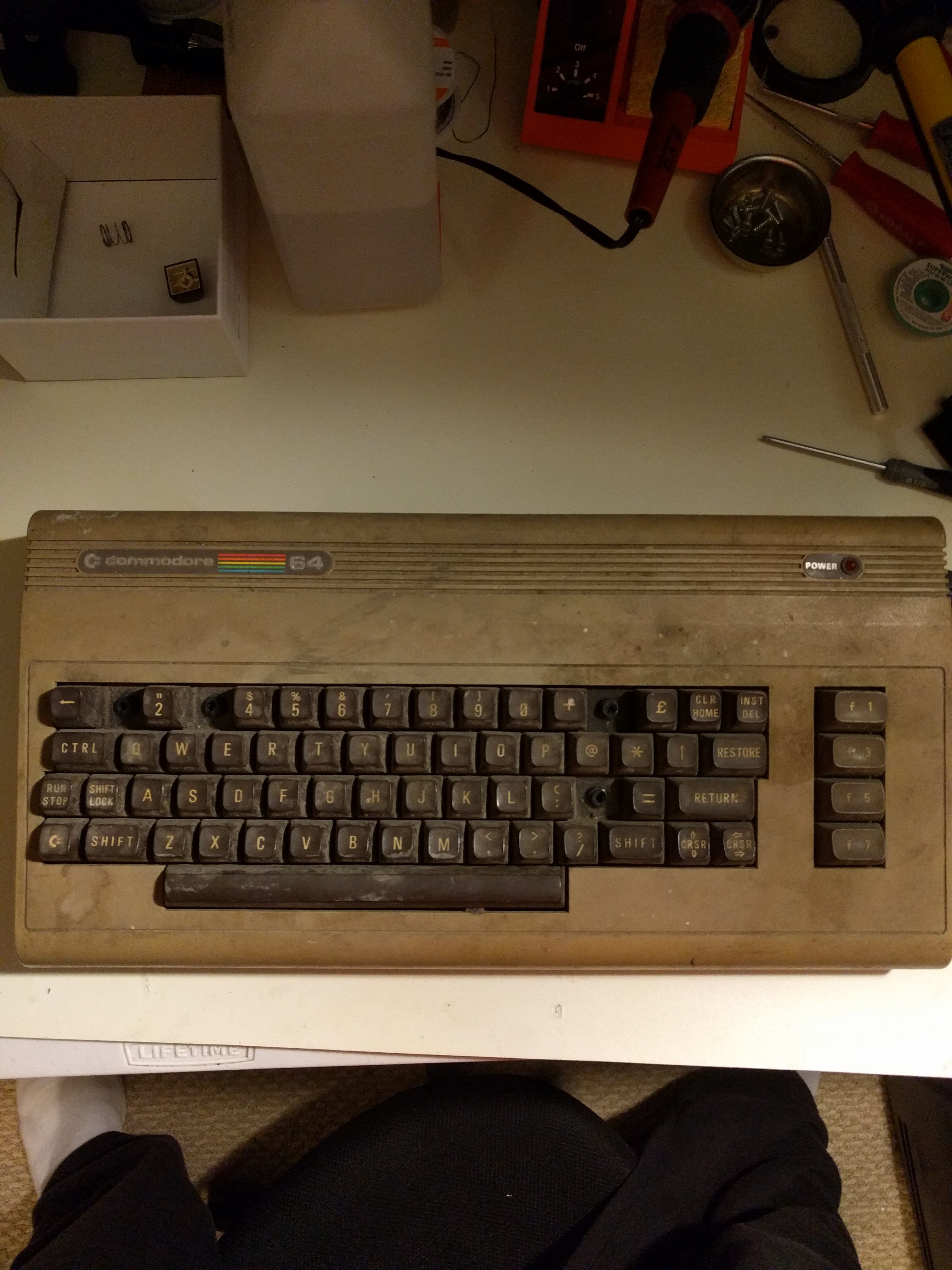 C64 in bad shape