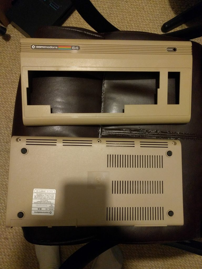 C64 Case Outside Restored