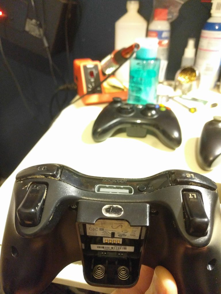 Grungie Xbox 360 controller