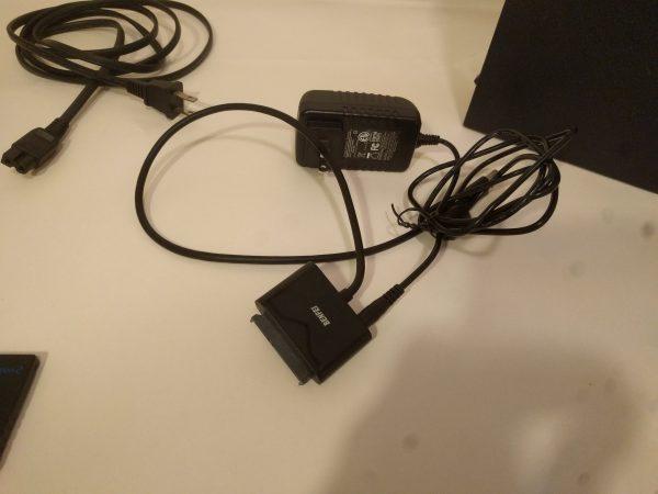 PS2 Softmod Bundle USB to SATA Adapter
