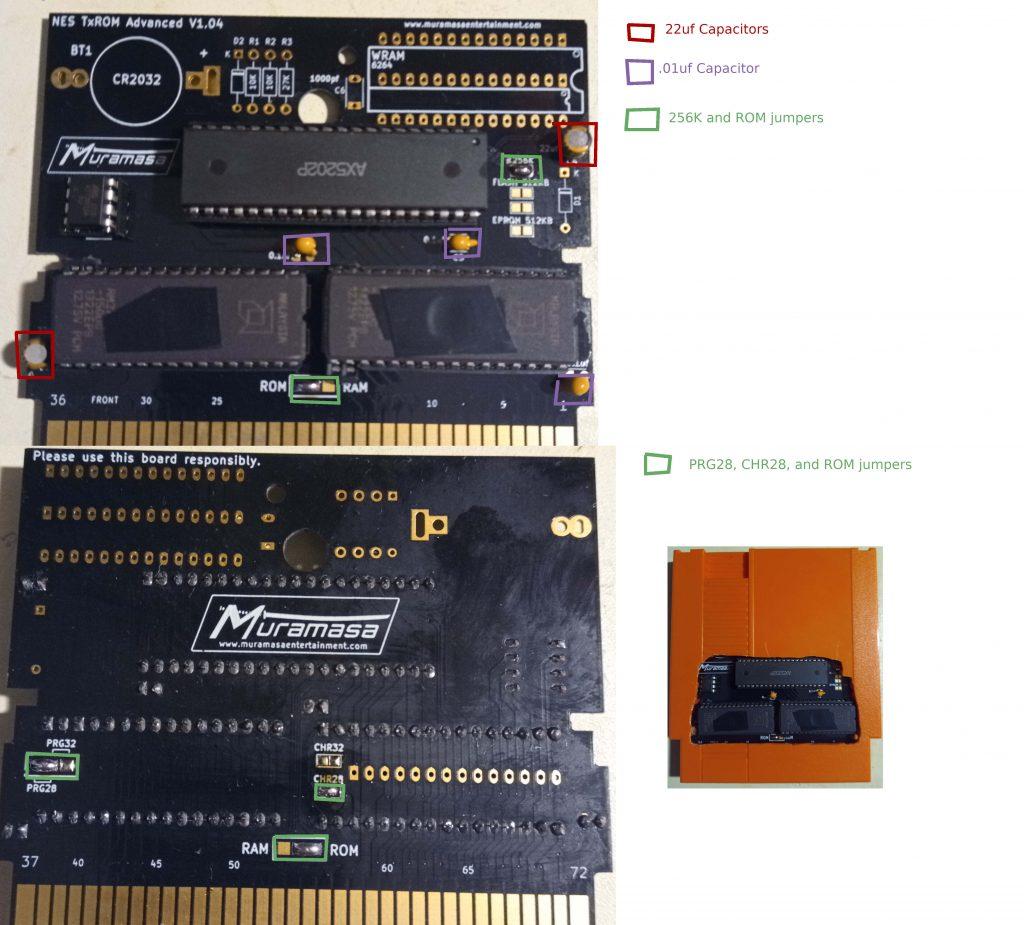 TxROM Advanced TLROM example.
